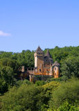 Chateau de Laussel in Dordogne, Aquitaine, France Stock Photos
