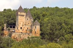 Chateau de Laussel, France Royalty Free Stock Photo