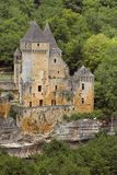Chateau de Laussel, France Stock Photo