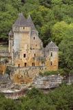 Chateau de Laussel, Francia Foto de archivo