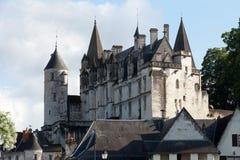 Chateau de Loches dans le Val de Loire Photo stock