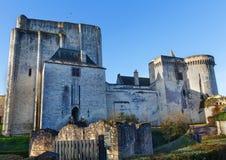 Chateau DE Loches, Frankrijk stock fotografie