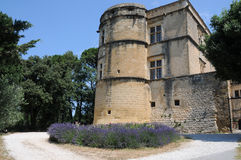 Chateau de Lourmarin Stock Photography