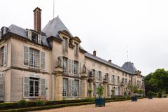 Chateau de Malmaison, France. Chateau de Malmaison (not far from Paris), France Royalty Free Stock Photo