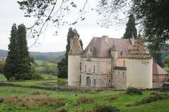 Chateau De Menessaire Images stock