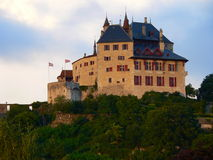 Chateau de Menthon-St.-Bernard ( France ) Royalty Free Stock Images