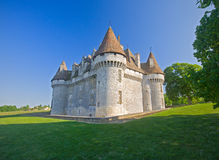 Chateau de Monbazillac ,sixteenth century building Royalty Free Stock Photo