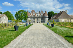 Chateau de Monbazillac Stock Photos