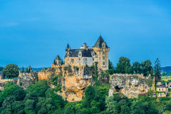 Chateau de monfort souillac perigord france Stock Photo
