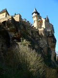 Chateau de Monfort, Vitrac ( France ) Royalty Free Stock Photo