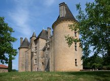 Chateau de Montal, France Stock Photos