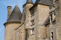 Chateau de Montal, France Royalty Free Stock Photography