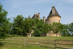 Chateau de Montal, France Royalty Free Stock Photo