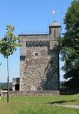 Chateau de Montendre  ( France ) Stock Image