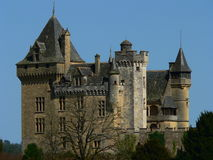 Chateau DE Montfort, Dordogne (Frankrijk) Royalty-vrije Stock Foto