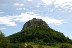 Chateau de Montsegur. South of France stock image