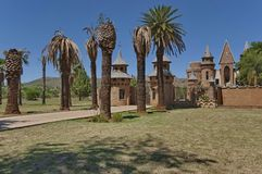 Chateau de Nates - όμορφη θέση για την ανάπαυση στοκ εικόνα