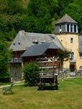 Chateau DE Nestes, Arreau (Frankrijk) Stock Fotografie
