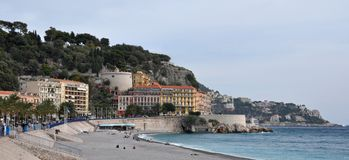 Chateau de Nice, Cote d'Azur, France Royalty Free Stock Photo