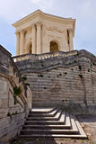 Chateau de Peyrou, Montpellier, France Photographie stock