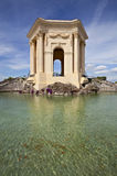 Chateau de Peyrou, Montpellier, France Photo libre de droits