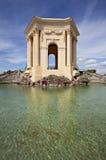 Chateau DE Peyrou, Montpellier, Frankrijk royalty-vrije stock foto