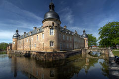Chateau de Pierre-de-Bresse 01, France. The Chateau de Pierre-de-Bresse, from the town bearing the same name in Saone-et-Loire department of France was build in Royalty Free Stock Photography