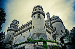 Chateau de pierrefonds Royalty Free Stock Images