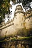 Chateau de pierrefonds Stock Image