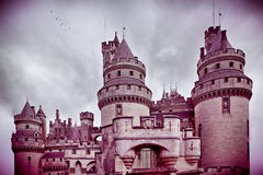 Chateau de pierrefonds Stock Image