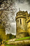Chateau de pierrefonds Royalty Free Stock Photography