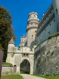 Chateau de Pierrefonds Royalty Free Stock Image