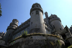 Chateau de Pierrefonds, Pierrefonds, Oise, France Royalty Free Stock Photo