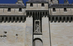 Chateau de Pierrefonds, Pierrefonds, Oise, France Stock Photo