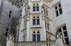 Chateau de Pierrefonds, Pierrefonds, Oise, France Royalty Free Stock Photos