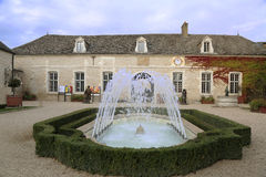 Chateau de Pommard winery in France Stock Photos