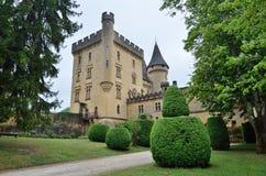 Chateau de Puymartin Royaltyfri Bild