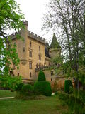 Chateau DE Puymartin, Marquay (Frankrijk) Royalty-vrije Stock Afbeelding