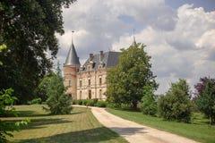 CHATEAU DE RAYNE VIGNEAU, Bordeaux, Frankreich lizenzfreies stockbild