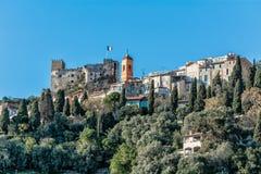 Chateau de Roquebrune 库存照片