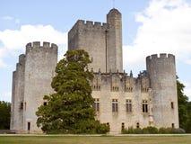 Chateau de Roquetaillade Arkivbild
