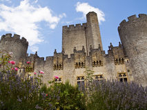 Chateau de Roquetaillade Stock Image