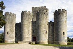 Chateau de Roquetaillade Stock Photos