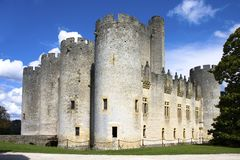 Chateau de Roquetaillade Royalty Free Stock Photo