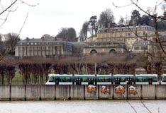 The Chateau de Saint-Cloud Stock Images