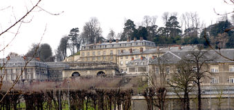 The Chateau de Saint-Cloud Royalty Free Stock Photos