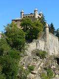 Chateau de Saint-Pierre, Aosta ( Italia ) Stock Photo