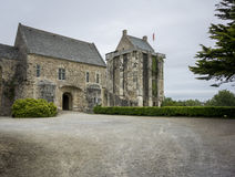 Chateau de Saint-Sauveur-le-Vicomte,  Normandy, France, Stock Image
