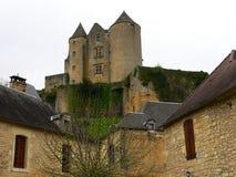 Chateau de Salignac, Salignac-Eyvigues ( France ) Stock Image