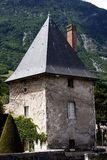Chateau de Sassenage. In Grenoble, France royalty free stock photos